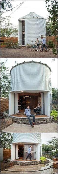 7 best grain bin homes images grain silo grains silo house rh pinterest com