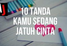 10 Tanda Kamu sedang Jatuh Cinta