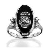 sigma kappa crest ring. I really want a ring with some type of crest on it! They look so great!