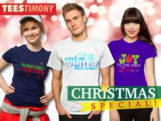 Available for Men's and Women's T-shirt Be Inspired and look stunning this christmas season with our amazing festive fashion tees collection. #teestimony #spreadtheword #usa #uk #worldwide SHOP NOW at U.S: http://teestimony.spreadshirt.com/  U.K: http://teestimony.spreadshirt.co.uk/