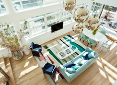 Bright and beautiful living room