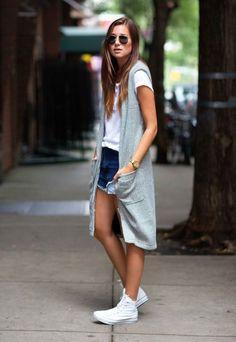 5 Maneiras de Deixar o Shorts Jeans Chic