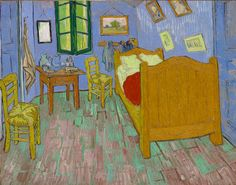 At the Art Institute of Chicago, it's now possible to stay in a bedroom that Vincent van Gogh had immortalized through his post-Impressionist work. His iconic painting titled The Bedroom was translated into a life-size replica and features all of the details from its namesake, including: thick, sculptural brush strokes; distressed green floorboards; and a haphazard arrangement of furniture and artwork. The room is available to rent through the museum's Airbnb listing at $10 a night. This…