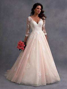 342 Best Pink Wedding Dresses Images Wedding Dresses Wedding