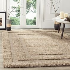 Safavieh Shadow Box Shag Collection SG4541313 Beige Area Rug 33 x 53 >>> Want to know more, click on the image. (This is an Amazon Affiliate link and I receive a commission for the sales)