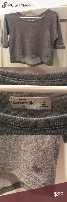 NWOT Abercrombie & Fitch Crop Top NWOT Abercrombie & Fitch Crop Top. Never worn or washed! High/low design. Very soft and flattering! 🔥 Abercrombie & Fitch Tops Crop Tops