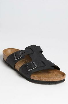 Birkenstock sandals for him.