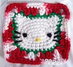 crochet...hello kitty....
