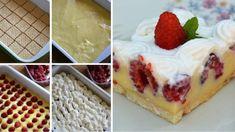 NEODOLATEĽNÉ malinové dobrodružstvo s pudingom a šľahačkou! Banoffee Pie, Czech Recipes, Cooking Recipes, Healthy Recipes, Diy Fireplace, No Bake Cookies, Gnocchi, Pudding, Cheesecake