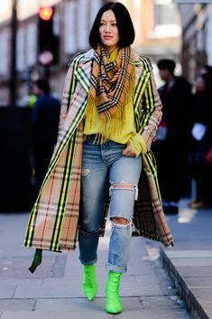 The Best Street Style from London Fashion Week #StreetFashionStyle #lateststyles