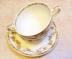Theodore Haviland Limoges tea cup and soucer by LoveCareHandmade