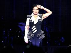 The theatrics, outfit changes and choreography made it hard to take your eyes off Janet Jackson, and you didn't want to either. Description from essence.com. I searched for this on bing.com/images