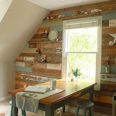 How to decorate with pallets