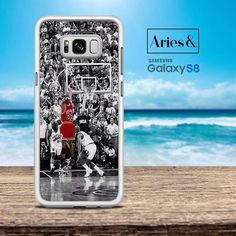 Michael Jordan Last Shot Samsung Galaxy S8 Plus Case by Ariesand are made in High Resolution Printing with best quality sublimation ink that protect the back, sides and corners of phone from bumps and scratches. Allows for easy access to all buttons, functions, and ports at the same time. Your phone case will be as stylish as it is protective.Note : Samsung Galaxy S8 Plus Case by Ariesand not Compatible with Wireless Charging dock, because there's Aluminum inlay attached to the case.