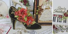 Heartfelt Creations All Glammed Up collection inspiration page