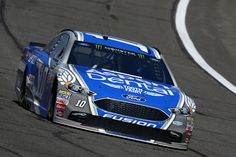 Danica Patrick Photos Photos - Danica Patrick, driver of the #10 Aspen Dental Ford, drives during practice for the Monster Energy NASCAR Cup Series Auto Club 400 at Auto Club Speedway on March 24, 2017 in Fontana, California. - Auto Club Speedway - Day 1