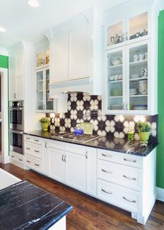 Kabinart Cabinets. Arts And Crafts Door Style W/ Custom Painted Finish  SW7009 Pearly White