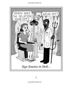 HaHa! Love Sight Gags: Cartoons for Eye Doctors and Their Patients.