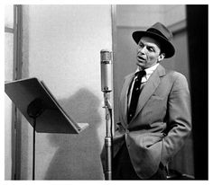 "Quote Of The Day: ""May you live to be 100 and may the last voice you hear be mine."" Frank Sinatra"