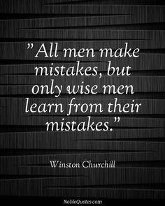 All Men Make Mistakes