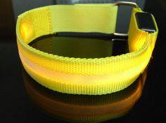 Glowing Blinking LED Luminous Sports Security Bracelets