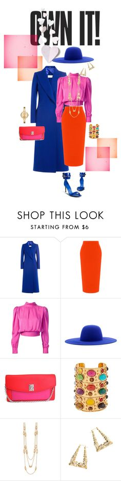 """""""Own It"""" by foreverfreshie ❤ liked on Polyvore featuring Maison Margiela, Roland Mouret, Yves Saint Laurent, Études, Christian Dior, Sylvia Toledano, Tory Burch and Michael Kors"""