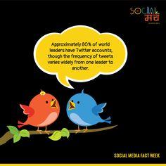 Tweet Tweet Tweet Twitter.......Sounds like Leader......Read the fact below  #SocialMediaFacts #SocialManch #SocialMediaAgency #DigitalMarketingAgency @Twitter @TwitterVideo @TwitterMoments #Twitter #Tweets