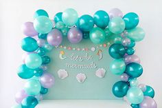 Calling all mermaids! You're definitely going to want to swim on over to this enchanted underwater celebration. We had so much fun pulling together t