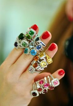 cocktail rings - Google Search