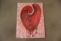 ACEO Original Drawing ink  pencil artwork by HouseOfPhlegethon