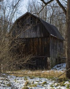 old barn**