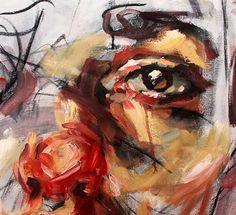 close up eyes Abstract Portrait, Portrait Art, Painting Inspiration, Art Inspo, Elly Smallwood, Gcse Art Sketchbook, A Level Art, Art Hoe, Aesthetic Art