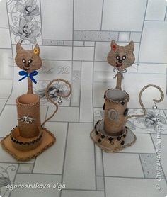 Diy Crafts - DIY & crafts projects, contents and more - Diy Crafts Stranamasterov Ru Diy Crafts 777222848164767580 P Twine Crafts, Diy Crafts, Pista Shell Crafts, Halloween Wine Bottles, Plastic Bottle Crafts, Diy Candle Holders, Bottle Art, Craft Projects, Craft Ideas