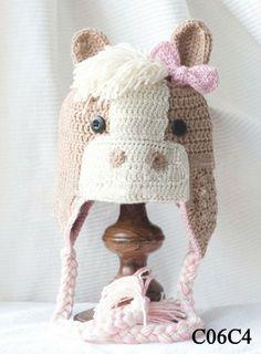 Mode animaux molletoné warmcrochet chapeaux pour enfants, belle chapeau hippo-Chapeaux d'hiver-Id du produit:1316404034-french.alibaba.com