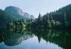 Erdély két legérdekesebb helye a Gyilkos-tó és a Békás-szoros. Mountains, Places, Nature, Naturaleza, Nature Illustration, Off Grid, Bergen, Lugares, Natural