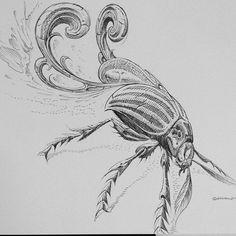 .@benbrlsq   original pencil sketch of that there tattoooooo.   Webstagram - the best Instagram viewer