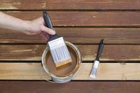 Removing Wood Stain From Skin | eHow REALLY WORKS! I used Olive Oil, dark stain came right off with a little rubbing!