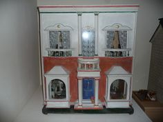 A collaborative information site with a quarterly ezine about dolls' houses: antique vintage and modern, plus furniture and accessories. Antique Dollhouse, Old Dolls, Vintage Stuff, Doll Houses, Dollhouse Furniture, Minis, Photo Galleries, Shops, Miniatures