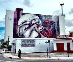 by Herakut in Miami (LP)