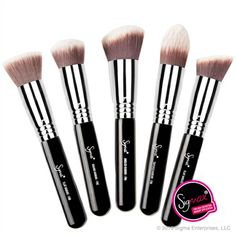 Hands down this set is AmAze Balls!!! The f80 flat top kabuki is my go to foundation brush you will NOT regret this tiny investment