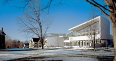 Smith College Campus Center in Massachusetts by Weiss/Manfredi