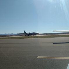 """Arrow 56J hold short runway 21 left for the..."