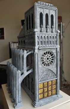 Gothic Cathedral: Hopping back across the sea to Europe, this medieval mod comes complete with naves, stained-glass window, and flying buttresses. When it's powered up in the dark, the windows glow