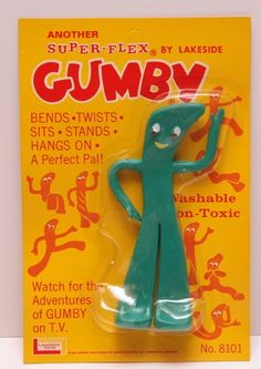 original 1960's Gumby by Lakeside Toys
