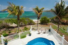 St. Croix villa rental - Our beach and our views are breathtaking!