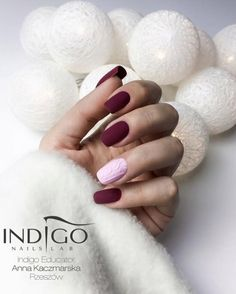 "Polubienia: 209, komentarze: 1 – Indigo Nails Lab LTD (@indigo_nails_lab_uk_onlineshop) na Instagramie: ""Bed of Roses Gel Polish by Natalia Siwiec It is a shade for women who love deep, complex shades…"""