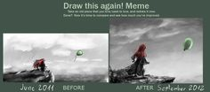 Draw This Again meme by fromzerotohero.deviantart.com