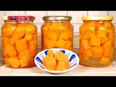 Pyszniutka chrupka dynia w zalewie słodko-kwaśnej   Znakomity dodatek do obiadów, mięs i serów - YouTube Carrots, Salads, Vegetables, Youtube, Canning, Carrot, Vegetable Recipes, Youtubers, Salad