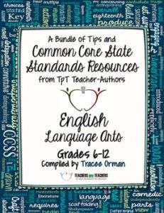 Common Core English Language Arts FREE Back-to-School ebook: Grades 6-12 - Teachers Pay Teachers