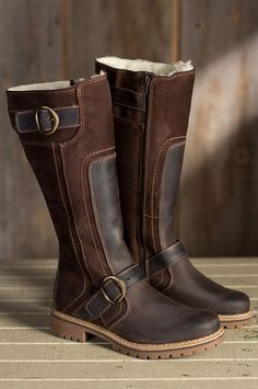 7c75ab975 Urban styling gives these practical boots plenty of cool.